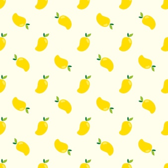 Seamless mango pattern
