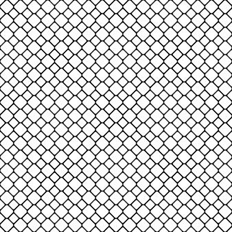 Seamless monochrome diagonal square grid patter background - vector graphic design