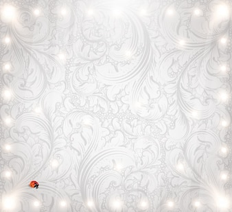 Seamless pattern decoration background floral