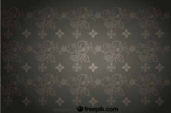 Seamless Retro Vignette Background
