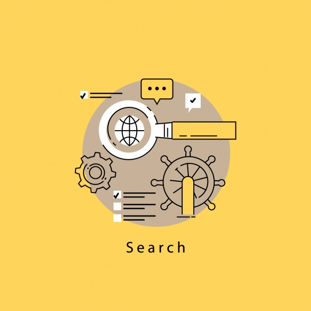 Search elements design