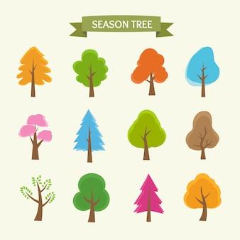 Season tree collection