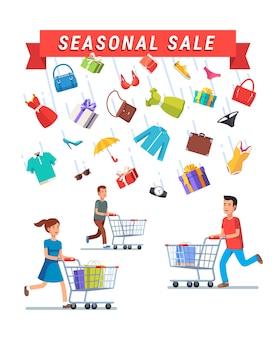 Рекламный баннер сезонной рекламы