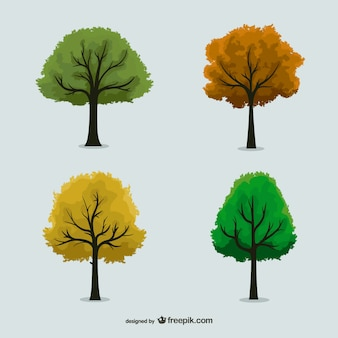 Seasonal trees pack