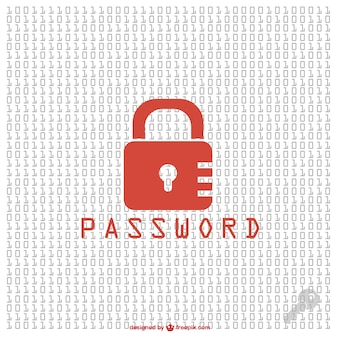 Security pasword free vector