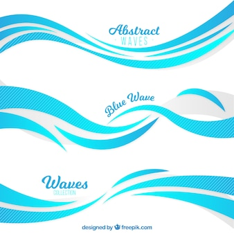 Selection of waves with abstract style