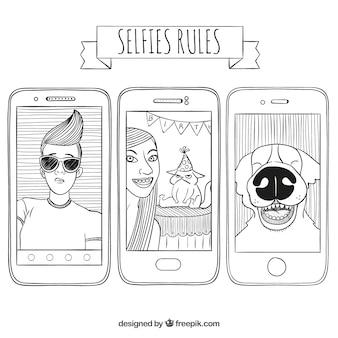 Selfies rules