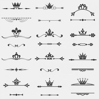 Separatings with crown collection