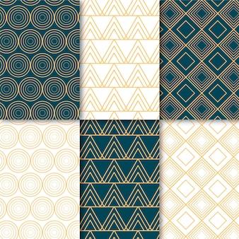 Set of minimal geometric pattern