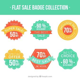 Set of discount vintage badges
