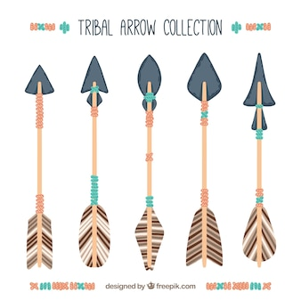 Set of ethnic arrows