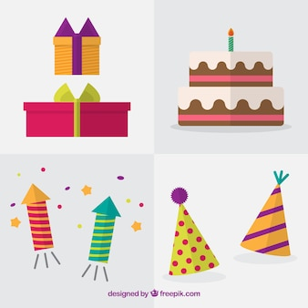 Set of flat elements for birthday