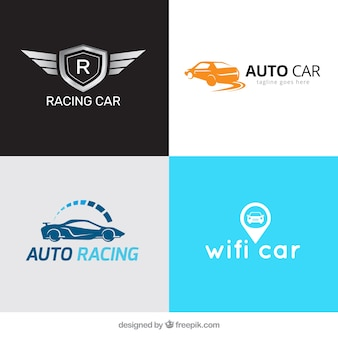 Several car logos