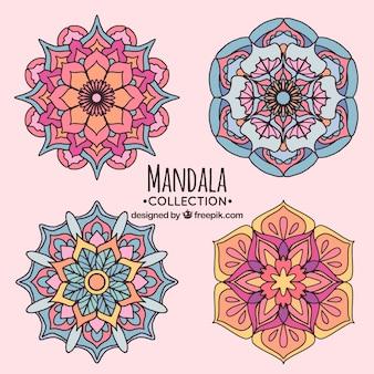 Several hand drawn mandalas