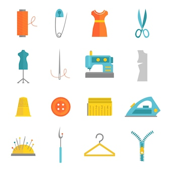 Sewing icons