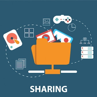 Share files