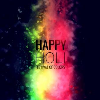 Shiny background of Holi festival