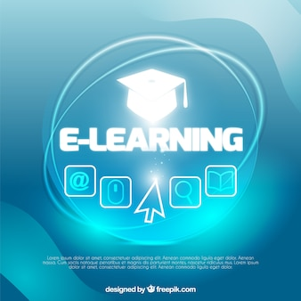 Shiny background of online learning