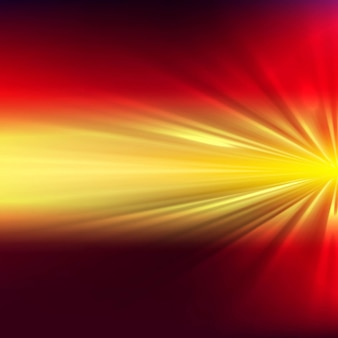 Shiny background with yellow and red shapes