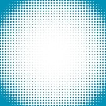 Shiny blue halftone background