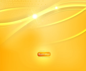 Shiny color yellow background banner