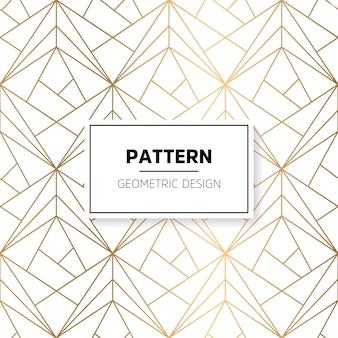 Shiny geometric shapes pattern