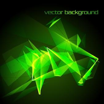 Shiny green background design