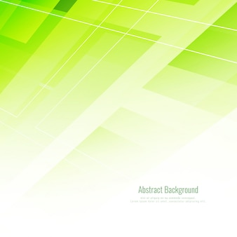 Shiny green geometric background