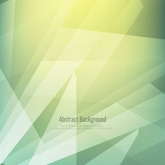 Shiny green polygonal background