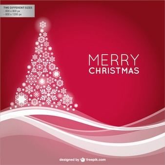 Shiny merry Christmas background