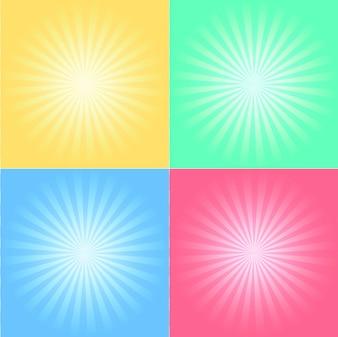 Shiny multicolor background