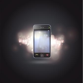 Shiny smartphone background