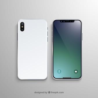 Shiny smartphone