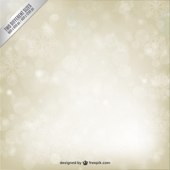 Shiny snowflakes background in abstract style