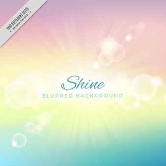 Shiny soft colors background