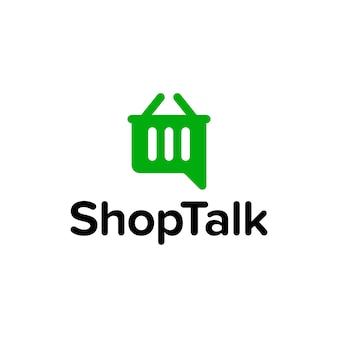 Shop Talk Logo
