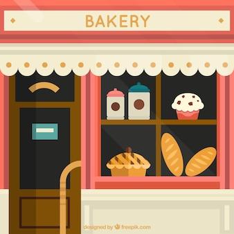Show window bakery