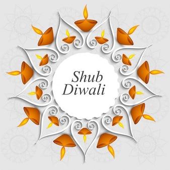 Shub Diwali background