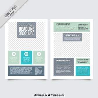 Simple and modern flyer