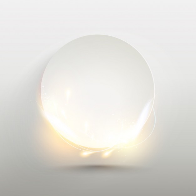 Simple background with bright circle