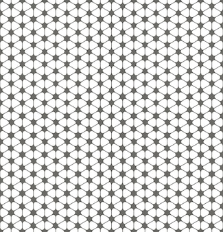 Simple minimal rhombus pattern