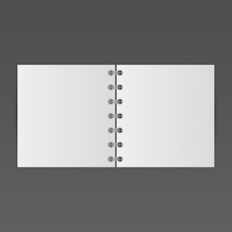 Simple notepad, mockup