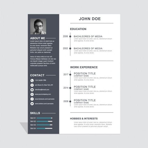 Sample Resume For Senior Graphic Designer Resume Writer Software Cover  Letter Example Graphic Design Classic Graphic  Simple Graphic Design Resume