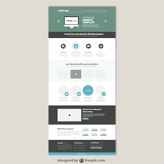 Simple website tamplate