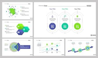 Six Banking Slide Templates Set