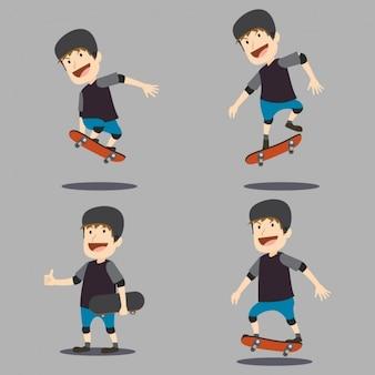 Skater character design