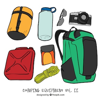 Sketches adventure accessories