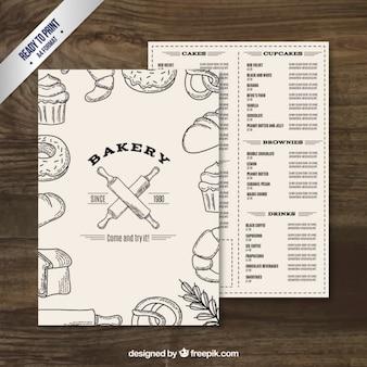 Sketches bakery menu