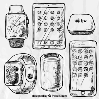 Sketchy apple gadgets
