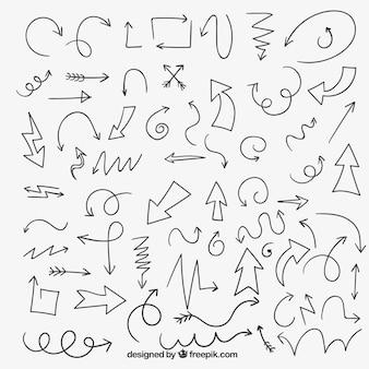 Sketchy arrows collection